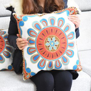 cushion cover embroidered morrocan 2