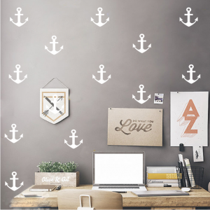 wall sticker anchors white