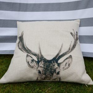 eryn stag cushion cover main