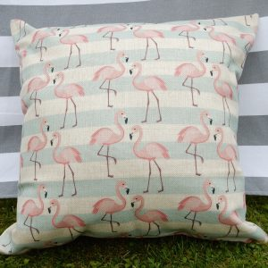 florence flamingo cushion cover main