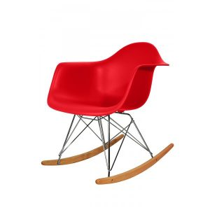 rocking chair red